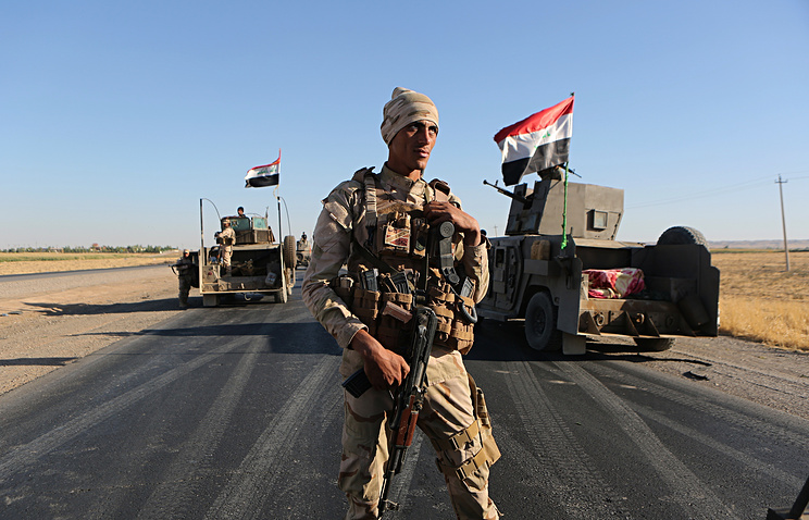 Baghdad Says Last IS-Held Town In Iraq Liberated