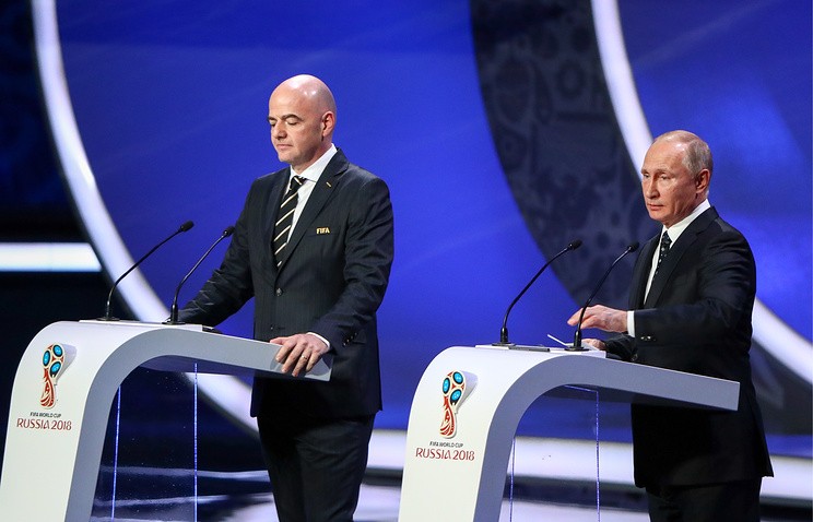 Russian Federation to kick off World Cup against Saudis, Nigeria gets favorable draw