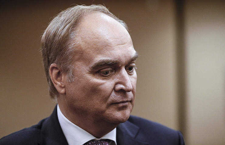 Russian Ambassador in Washington Anatoly Antonov