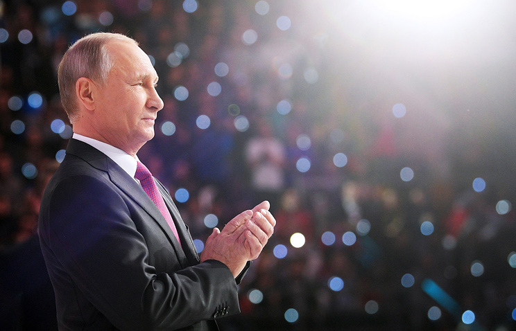 Russian President Vladimir Putin Says He Will Stand for Re-Election