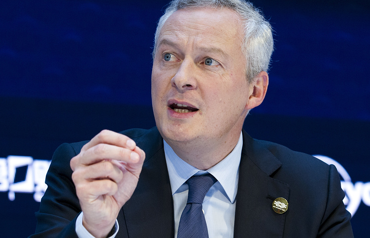 French Minister of Economy Bruno Le Maire