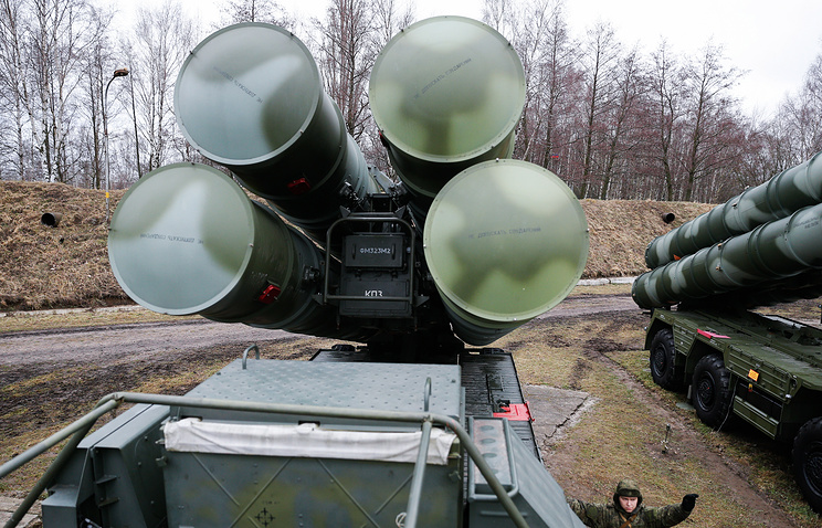S-400 Triumf air defense missile systems