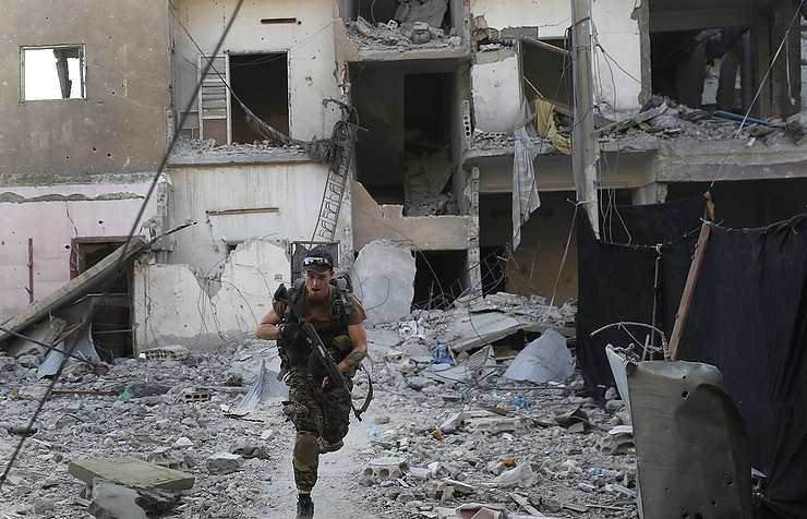 Syrian militants in counteroffensive in Idlib