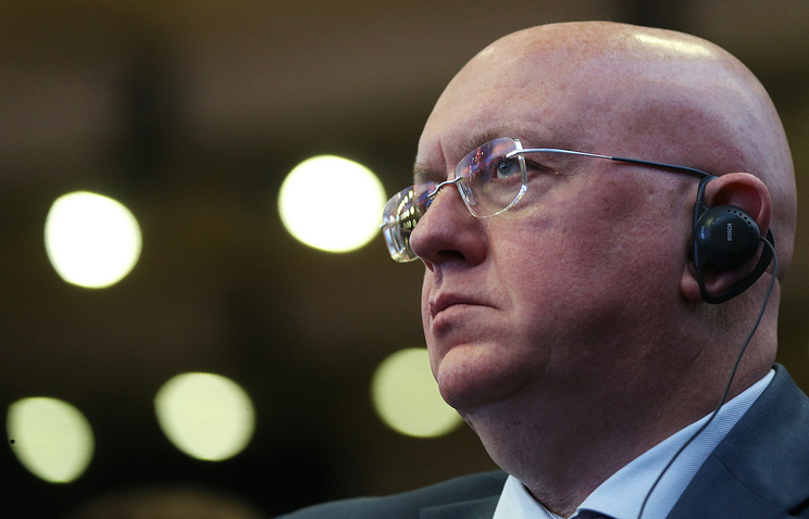 Russian Ambassador to the UN Vassily Nebenzya