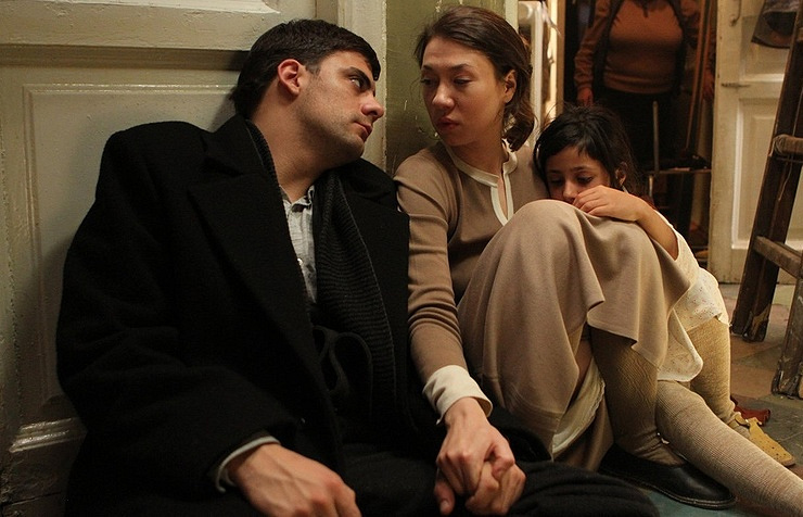 A shot from the 'Dovlatov' movie