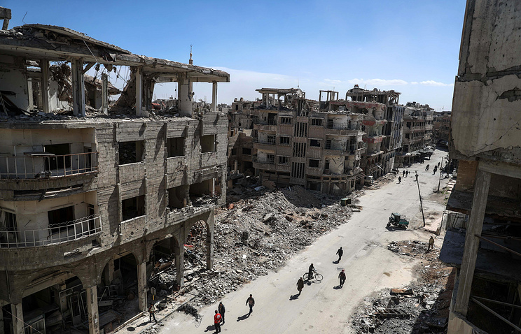Delegation from Syria rebel enclave mulls evacuation deal class=