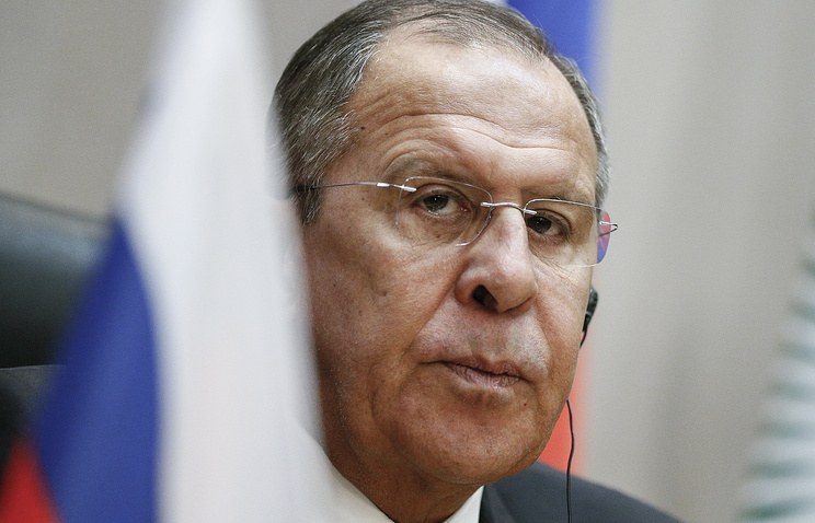 Lavrov to meet with South Korea's national security advisor