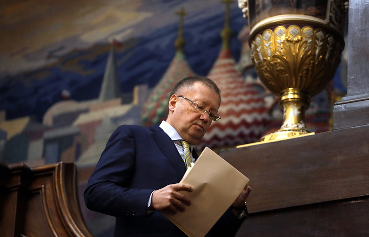 Russian Ambassador to the UK Alexander Yakovenko