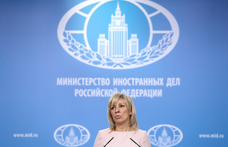 Russia, Azerbaijan linked by strategic partnership relations: Zakharova
