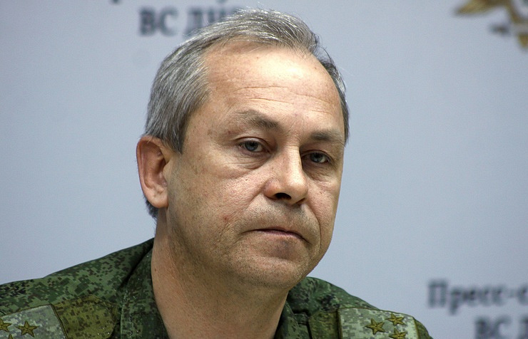 А spokesman for the operations command of the self-proclaimed Donetsk People's Republic Eduard Basurin