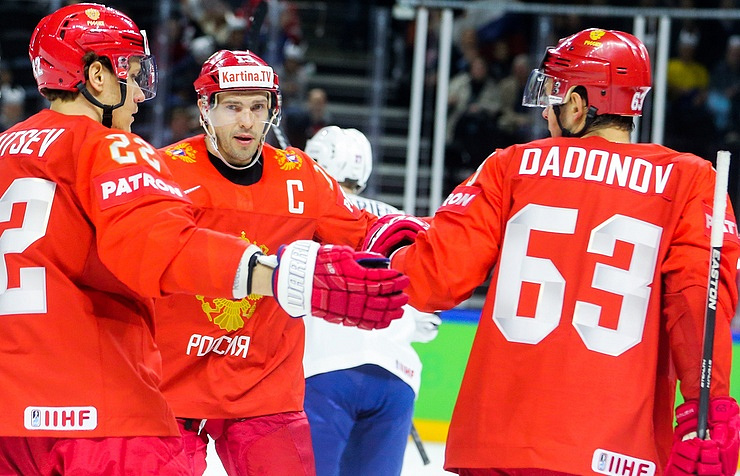 Russian Federation beats France 7-0 in Ice Hockey World Championship opening match