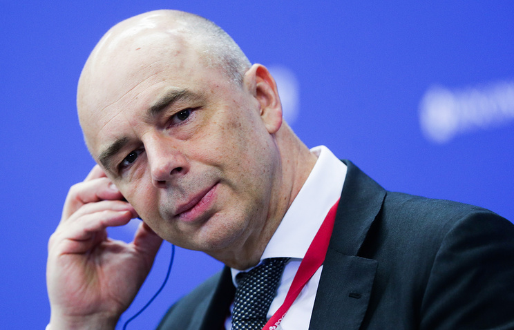 Russia's First Deputy Prime Minister and Finance Minister Anton Siluanov