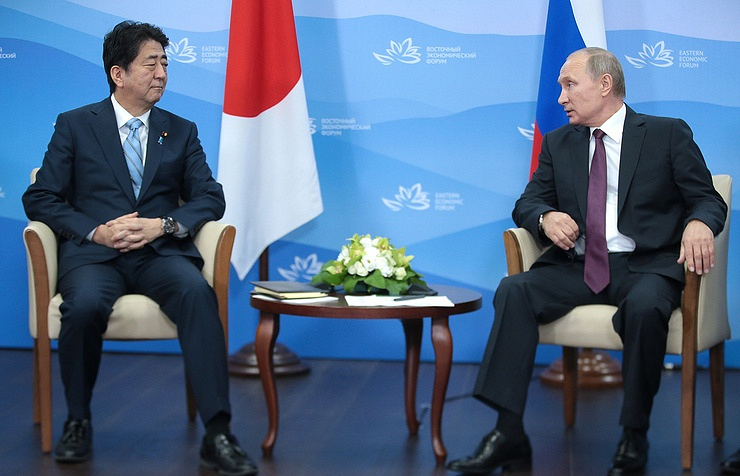 Putin: It's important to look for Russia-Japan WW2 peace treaty solution