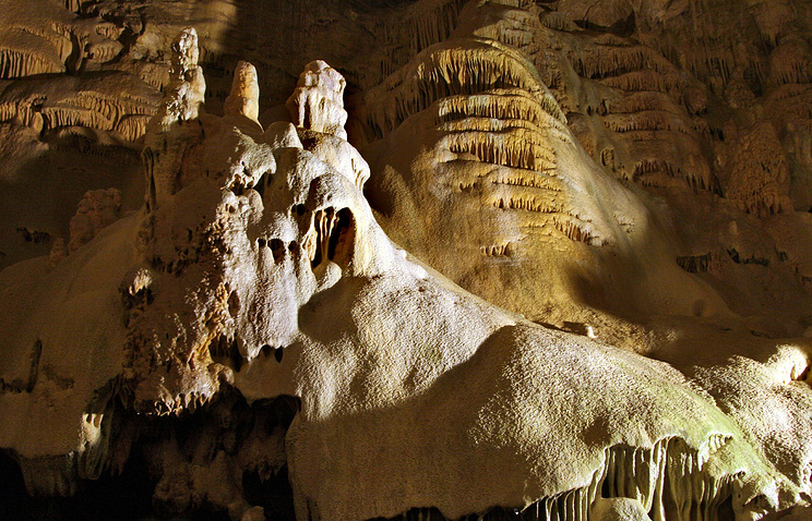 Solutional cave