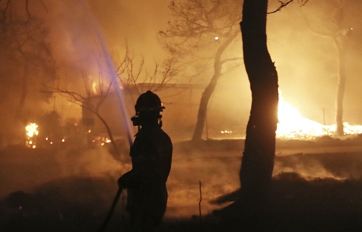 Forest fires: Greece declares state of emergency, asks for international aid