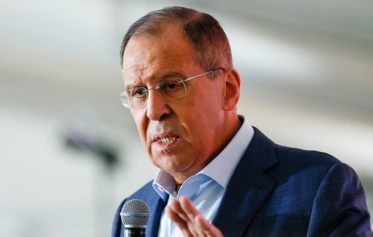 Russia's Lavrov says conditions exist for Syria refugee return
