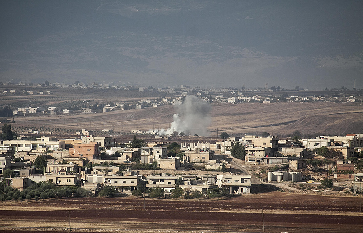 Syrian government and Russians target Idlib in heavy strikes