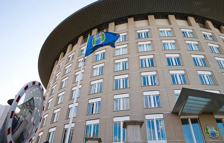 The OPCW building