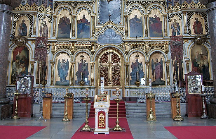 Main cathedral of the Finnish Orthodox Church, Uspenski Cathedral