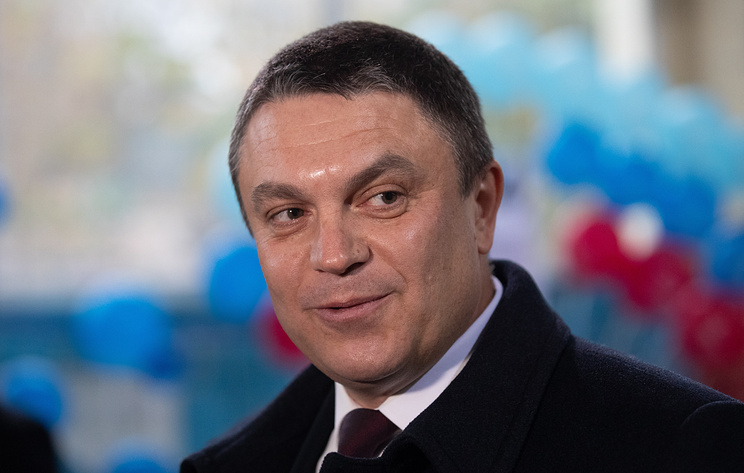 Acting head of the self-proclaimed Lugansk People's Republic Leonid Pasechnik
