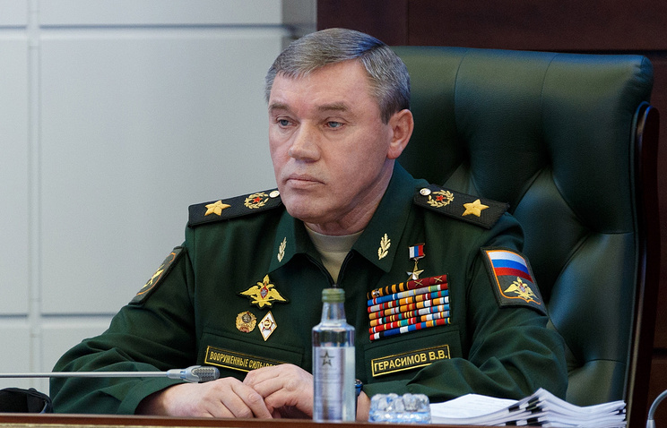Russian Chief of General Staff Valery Gerasimov