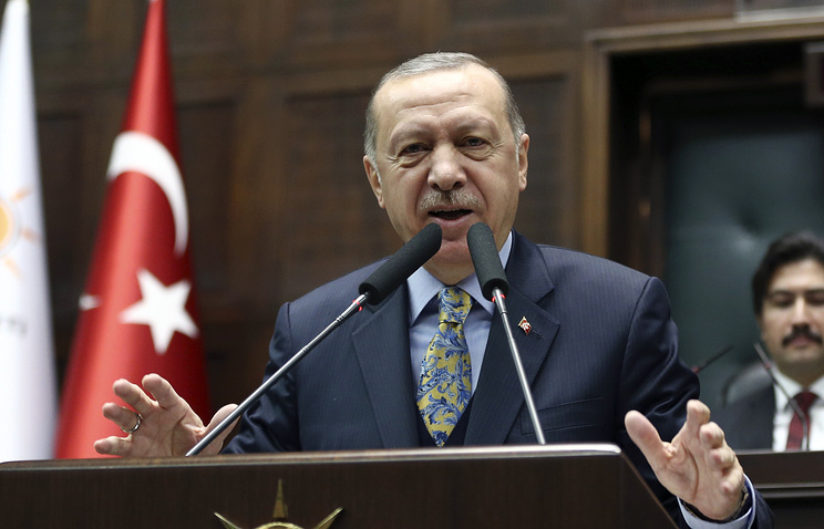 Erdogan: Turkey to set up 'security zone' in Syria