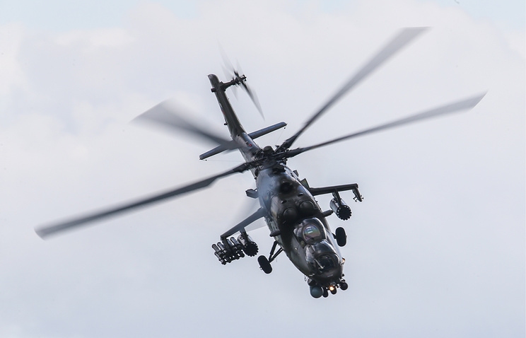 Mi-35 helicopter