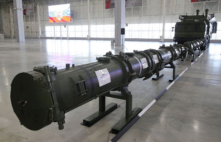 Russia, in effort to defuse US nuclear dispute, displays new missile
