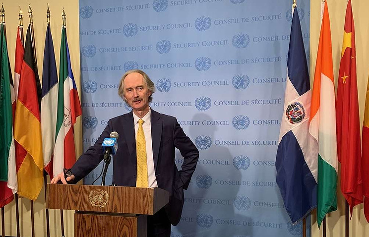 United Nations Special Envoy for Syria Geir Pedersen