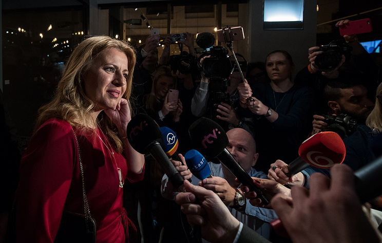 Anti-graft campaigner Caputova leads Slovak presidential election first round