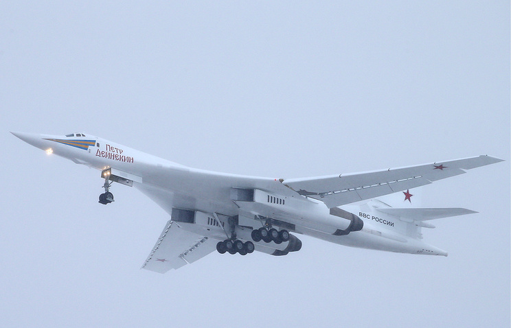 Tupolev-160 strategic bomber