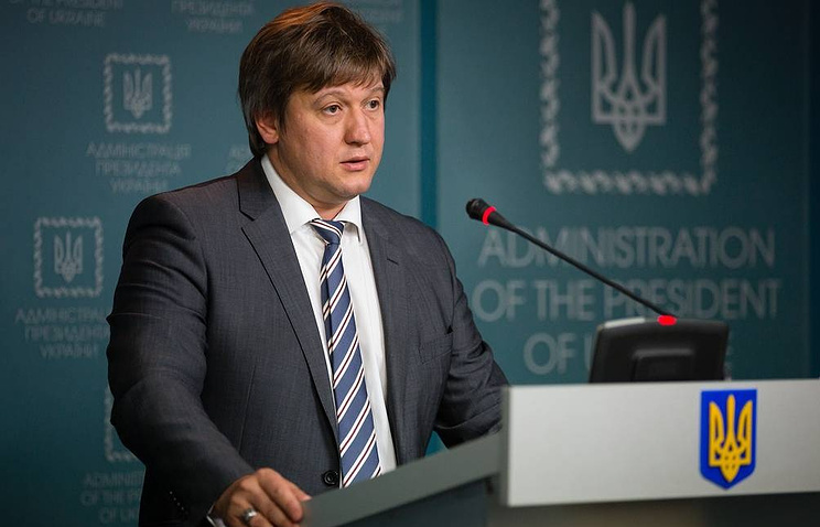 Ukraine's National Security and Defense Council Secretary Alexander Danilyuk