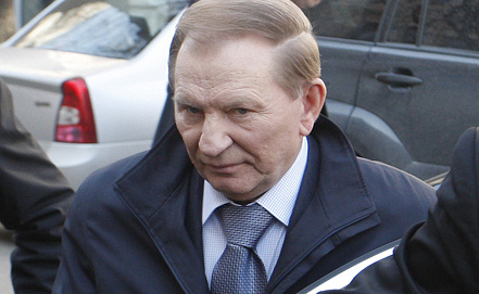 Leonid Kuchma. Photo ITAR-TASS