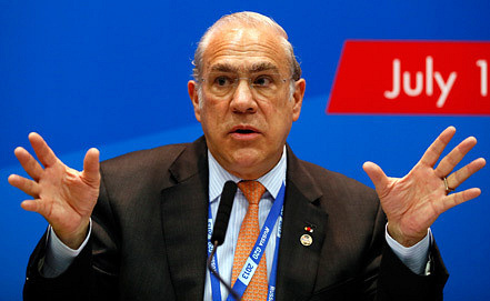 Angel Gurria, Photo EPA/ITAR-TASS