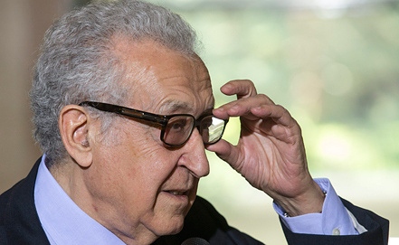 Lakhdar Brahimi. Photo EPA/ITAR-TASS