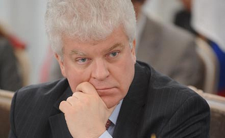 Permanent envoy to the European Union Vladimir Chizhov. Photo ITAR-TASS archive/ Grigory Sysoev