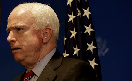Senator John McCain. Photo EPA/AMEL PAIN