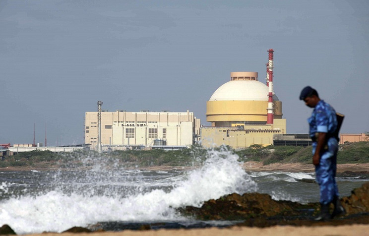 Russian-built Kudankulam Atomic Power Project at Kudankulam. AP Photo/Rafiq Maqbool