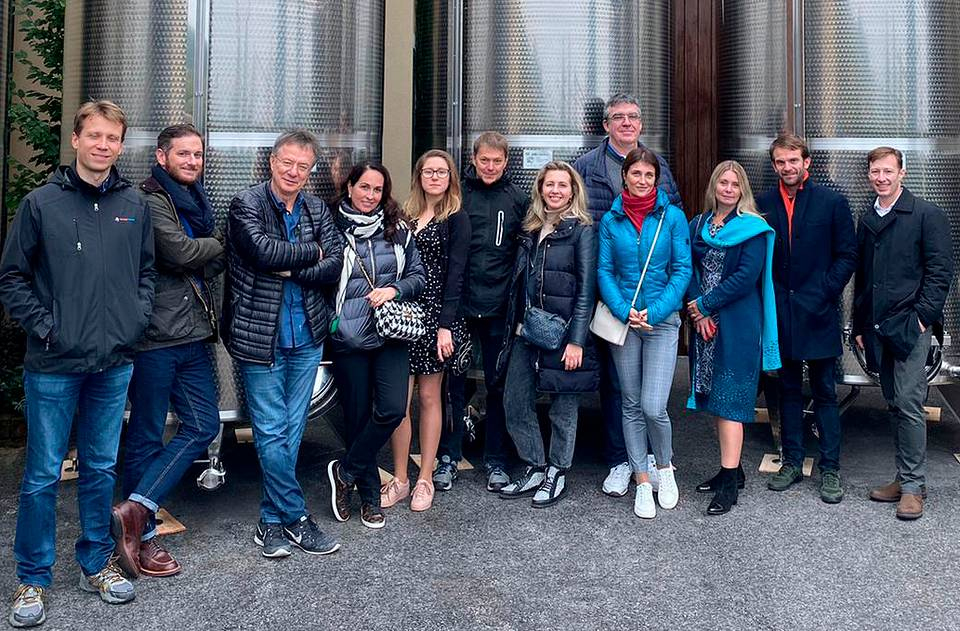 With Almaz Capital team in Italy, 2019 Personal archive of Alexander Galitsky